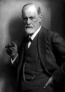 Sigmund Freud; circa 1921