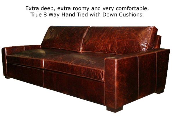 Madison Sofa In Brompton Leather